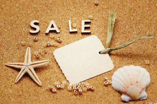 Summer sale item tag included