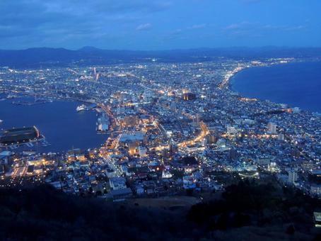 Night view of Hakodate (1)