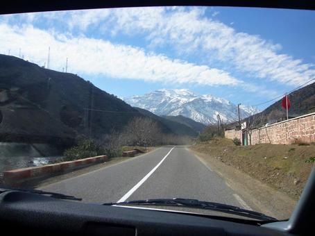차창에서 아틀라스 산맥