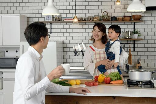 Parent and child to cook 9