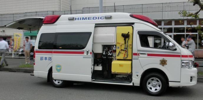 Ambulance (fire fair)