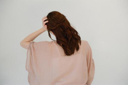 여성의 뒷모습 6