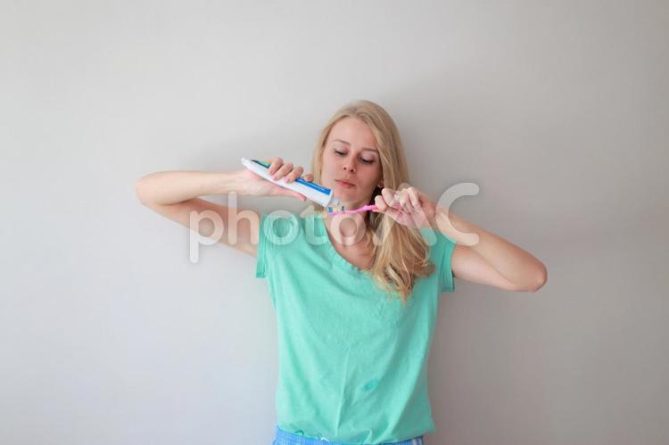 歯磨き1の写真