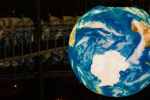 Image of a huge globe