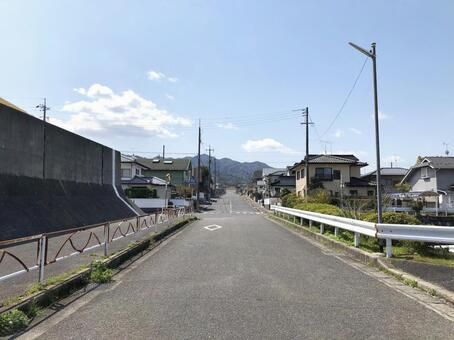 Residential area without people