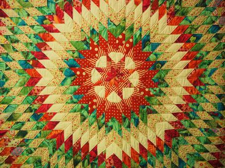 掛毯花卉圖案