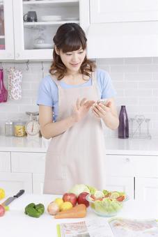 Recipe check with smartphone 1