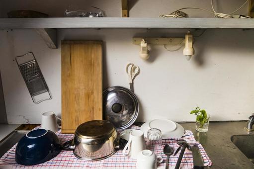 Scenery of sink