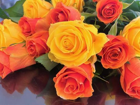 장미 꽃다발 1
