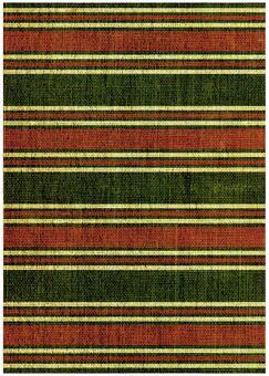 Grunge texture Oriental border