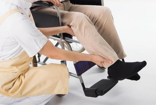 Wheelchair male footwear 1