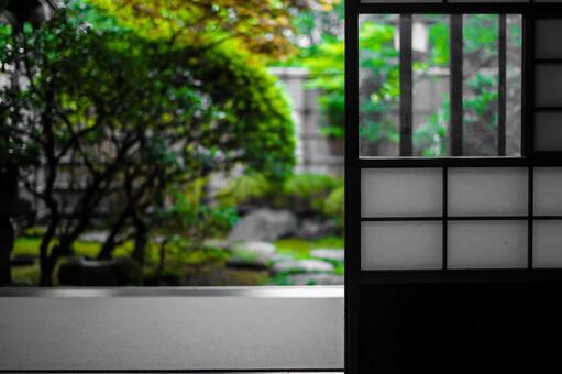 Engawa of Japanese house