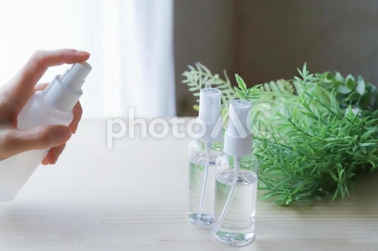 除菌スプレーの写真