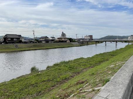 Sasagase River riverbed