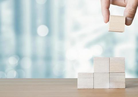 Image of building blocks