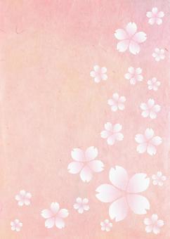 Japanese paper _ cherry blossom