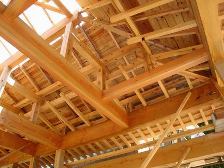 목조 주택 건설 현장 11
