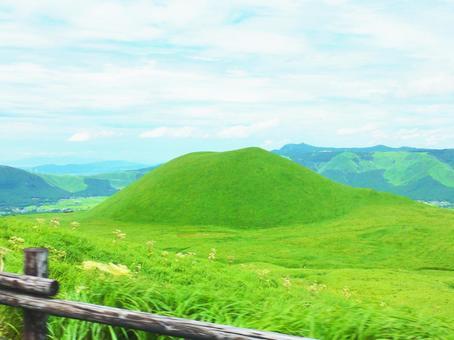 Scenery of Aso