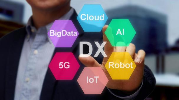 DX (Digital Transformation) image, color version