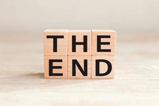 THE END End End End