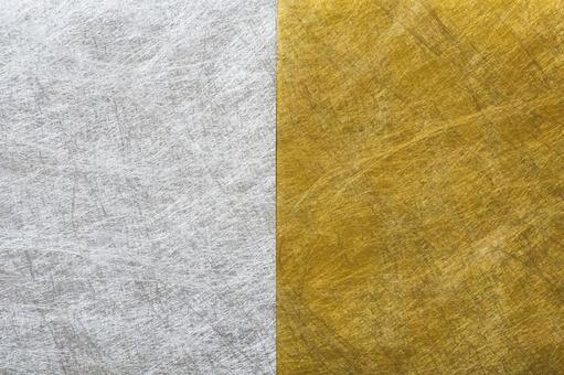 Gold and silver Japanese paper
