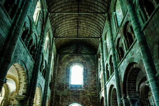 Image of the monastery of Mont Saint Michel (Normandy, France)