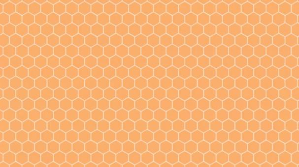 Honeycomb - Orange