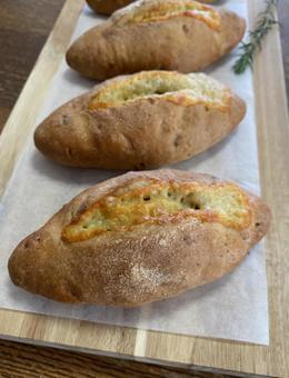 호두와 치즈 빵 세로
