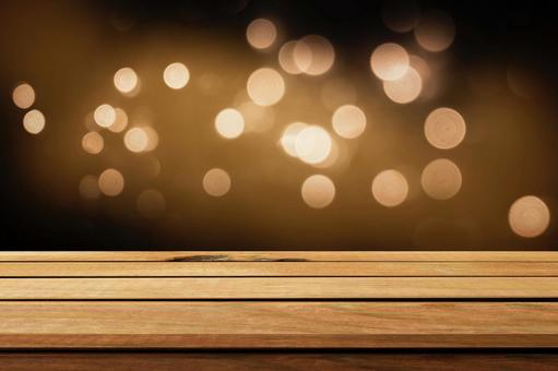 Wooden board and light background image