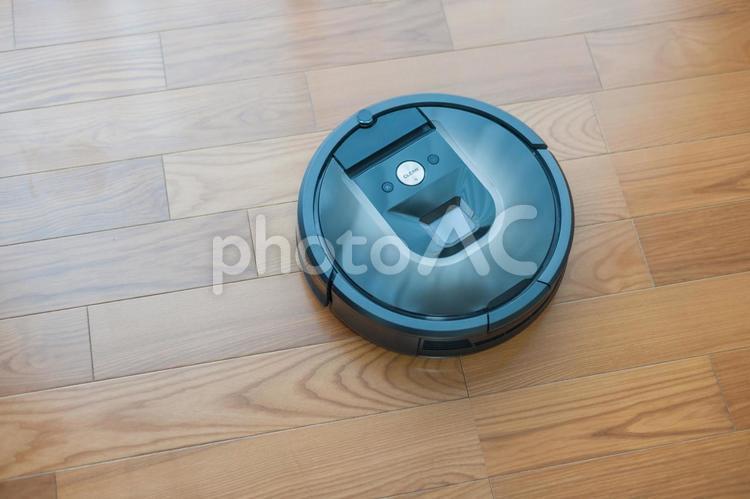 お掃除ロボットの写真