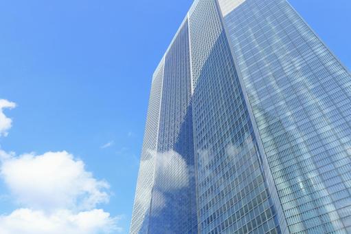 Shiodome skyscraper