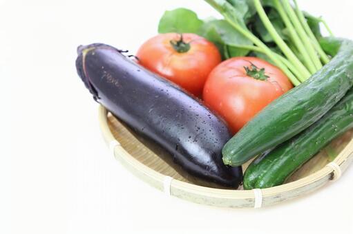 Summer vegetables that entered the monkey 3