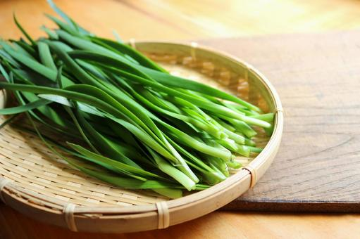 A harvested chives