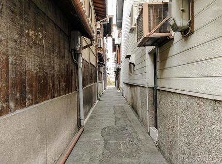 Back alley in Kyoto
