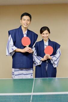 这是乒乓球说到温泉! 3
