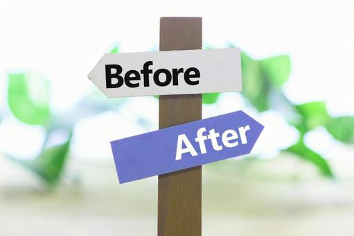 Before After Before After Image Material Road Sign