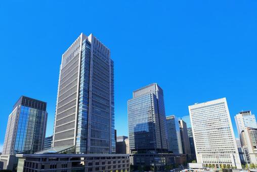도쿄 마루 노우치의 빌딩 군