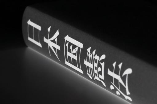 일본 국 헌법 흑백 반전