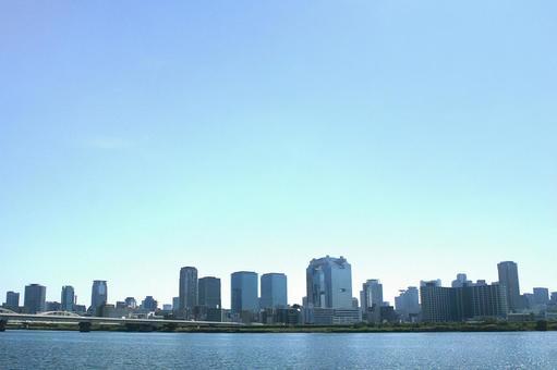 오사카의 풍경