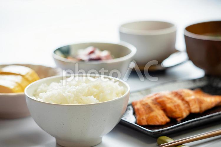 朝食のご飯の写真