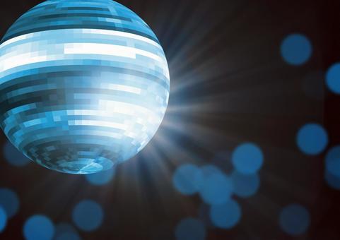 Mirror ball 【Blue】