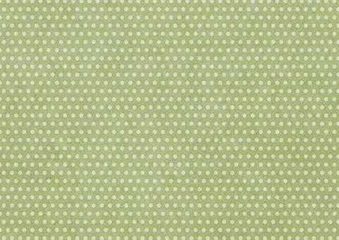 Japanese paper dot 1. Green