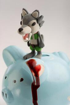 Wolf and pig 21