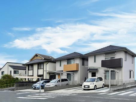 Residential detached cityscape