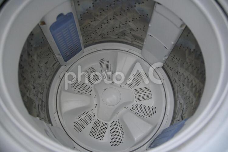 洗濯機の脱水槽の写真