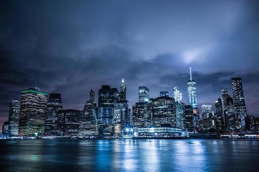 뉴욕 맨해튼의 야경 17