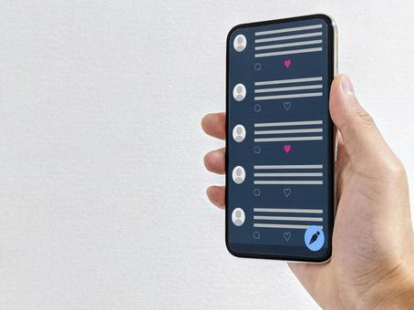 Show off your smartphone screen (SNS app)