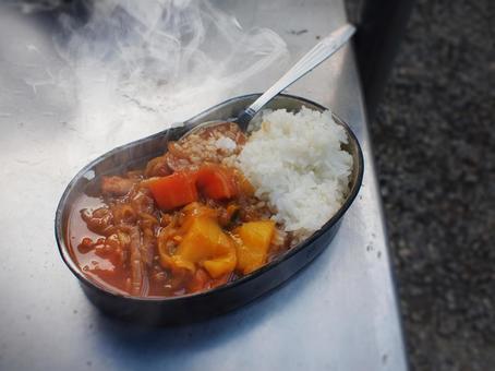 반합 炊爨의 카레라이스