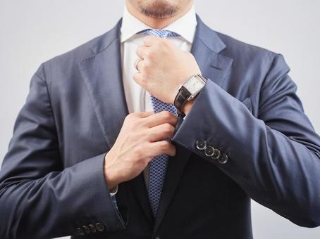 Business image tie