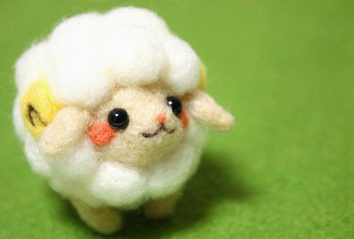 Sheep left